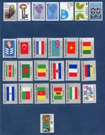 ⭐ Nations Unies - New York - YT N° 308 à 333 ** - Année Complète - Neuf Sans Charnière - 1980 ⭐ - Ungebraucht