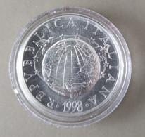1998 - ITALIA REPUBBLICA - MONETA IN ARGENTO 835   -  L'UOMO E LA FEDE  -  VALORE DI LIRE 2.000  - FIOR DI CONIO - - 2 000 Lire