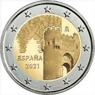 2 Euro ESPAÑA 2021 TOLEDO - SPAIN - NEUF - NUEVA - SIN CIRCULAR - NEW 2€ - Spanien