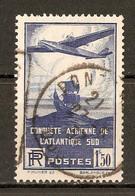 1936 - Traversée Aérienne Atlantique-Sud 1f.50 Bleu-violet - N°320 - Oblitérés