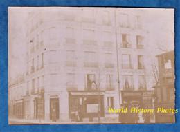 Photo Ancienne Vers 1900 - PARIS - Boulangerie Patisserie - Octroi De Romainville - Herboristerie - Autobus Omnibus - Anciennes (Av. 1900)