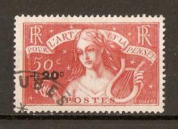 1936 - Chomeurs Intellectuels N°329 - Oblitérés