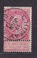 [58_0020] Zegel 58 Met Cirkelstempel Chimay Scan Voor- En Achterzijde - 1893-1900 Barba Corta