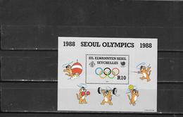 SEYCHELLES ZIL ELOIGNE SESEL Nº HB 5 - Sommer 1988: Seoul