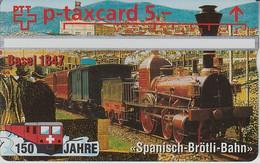 SWITZERLAND - PHONE CARD - TAXCARD PRIVÉE *** TRAIN - ZUG - 150/2 *** - Schweiz