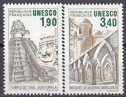 FRANCE Unesco 37-38,unused - Ungebraucht