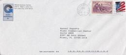 GRANITE ENVIRONMENTAL. USA ENVELOPPE COMMERCIAL. CIRCULEE 2002. SALT LAKE CITY A MIAMI.- LILHU - Briefe U. Dokumente