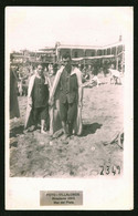 1771 - Young MEN In Old Victorian Swimsuit At The Mar Del Plata Beach - Photo Postcard 1920's - Anonyme Personen