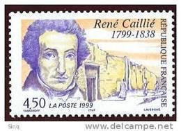 N° 3257  Année 1999, René Caillé, Faciale 4,50 F - Ungebraucht