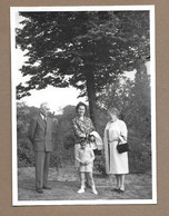 PHOTO 13 X 9 Cm De 1962.. FEMMES, HOMME, ENFANT Au Parc Du Heysel à BRUXELLES ( Belgique) - Anonyme Personen