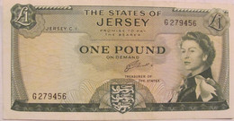 Pound 1972 Jersey / Very Nice Looking / RARE - 1 Pound