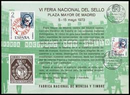 1973, Spanien, 1973 EB, Gest. - Zonder Classificatie
