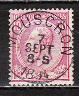 46  Oblitération Centrale MOUSCRON - LOOK!!!! - 1884-1891 Leopoldo II