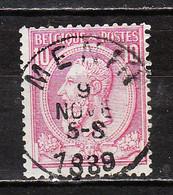 46  Oblitération Centrale MENIN - LOOK!!!! - 1884-1891 Leopoldo II