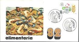 MATASELLOS 1982  BARCELONA - 1981-90 Storia Postale