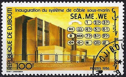 Djibouti 1986 - Mi 474 - YT 627 ( Sea-Me-We Submarine Cable ) - Djibouti (1977-...)