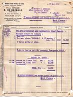 Facture - Maison Depiaube R.De Bataille Fournitures Pour Hotels Et Cafés  à Toulouse Du 17 Mai 1955 - 1900 – 1949