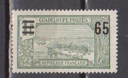 GUADELOUPE      N° YVERT  :  90  NEUF AVEC CHARNIERES         ( CH     4 / 34 ) - Neufs