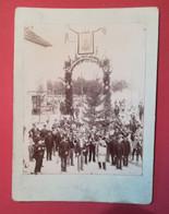 Photo Ancienne  Hermann Ruché Bonneville (1897)  - CLUSES HAUTE-SAVOIE - FANFARE - ECHO DE L'ARVE - Orte