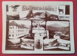 """Photo Ancienne  Hermann Ruché Bonneville (1897)  - CLUSES  HAUTE-SAVOIE """" Souvenirs """" - Orte"""