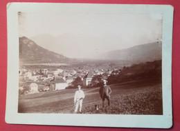 Photo Ancienne  Hermann Ruché Bonneville (1897)  - SALLANCHES   HAUTE-SAVOIE - Orte