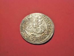 SCHLESIEN Liegnitz Brieg 3 Kreuzer 1670 Christian (1639-1673) - Groschen & Andere Kleinmünzen