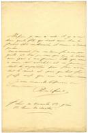 DUROC Christophe De Michel Du Roc Dit (1772-1813), Duc De Frioul, Grand Maréchal Du Palais De Napoléon. - Handtekening