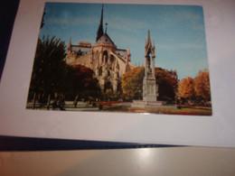 CPA CPSM CARTE POSTALE 75 PARIS  CATHEDRALE NOTRE DAME - Notre Dame Von Paris