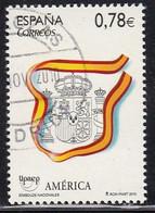 2010-ED. 4601-SERIE COMPLETA-AMÉRICA-UPAEP. Simbolos Nacionales-USADO - 2001-10 Usati