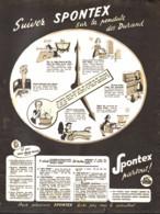 "PUB    "" SPONTEX ""   1949  ( 8 ) - Autres"