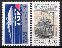 FRANCE 1989 - (**) - N° 2607 Et 2608 - (Lot De 2 Valeurs Différentes) - Ungebraucht
