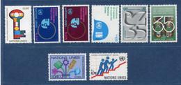 ⭐ Nations Unies - Genève - YT N° 88 à 95 ** - Année Complète - Neuf Sans Charnière - 1980 ⭐ - Ungebraucht