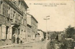 Montbrison * Les Quais Des Eaux Minérales Et Hôtel Du Lion D'or CREA - Montbrison