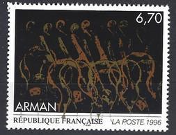 Yv  3023-tableau : Oeuvre Originale D'Arman  ** - Ungebraucht