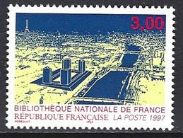 Yv  3041-Bibliothèque Nationale ** - Ungebraucht