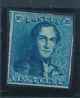 BELGIUM COB 2 MINT NO GUM - 1849 Mostrine