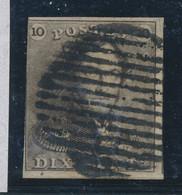 """BELGIUM COB 1 USED """"RURAL 14B"""" - 1849 Mostrine"""