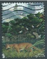 VEREINIGTE STAATEN ETATS UNIS USA 2006 FROM SOUTHERN FLORIDA: FLORIDA PANTHER USED SC 4099C YT 3878 MI 4173 SG MS4661C - Gebraucht