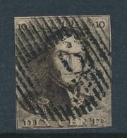 BELGIUM COB 1 USED D56 WALCOURT - 1849 Mostrine