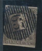BELGIUM COB 1 V4 USED P63 ISEGHEM - 1849 Mostrine