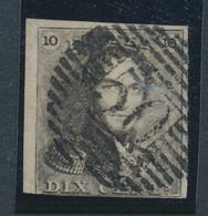 BELGIUM COB 1 USED P50 GOSSELIES - 1849 Mostrine