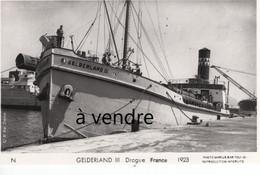 GELDERLAND III,  Drague, France 1923 - Other