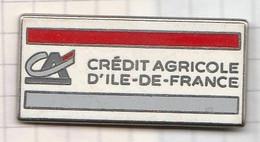 PINS REGION ILE DE FRANCE CREDIT AGRICOLE - Banks