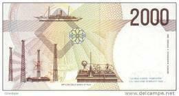 ITALY P. 115 2000 L 1990 UNC - 2000 Liras