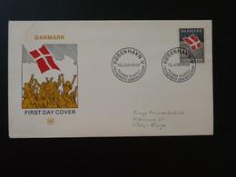 FDC Drapeau National Flag Danemark Denmark 1969  Ref 102118 - FDC