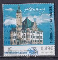 BRD Privatpost Citycurier (49 Cent) Thüringer Rathäuser Altenburg (A1-23) - Private & Local Mails
