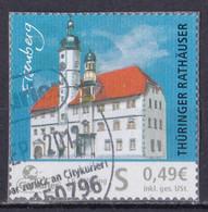 BRD Privatpost Citycurier (49 Cent) Thüringer Rathäuser Eiseenberg (A1-23) - Private & Local Mails