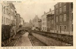 Montbrison * Les Bords Du Vizezi * Pont Passerelle * Caisse D'épargne Et Hôpital * Banque Banco Bank - Montbrison