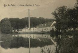 La Hulpe // L'Etang Et Fabrique De Papier 1920 - La Hulpe