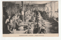 FOUGERES - MANUFACTURE E. PACORY - MAGASIN D'EMBALLAGE - 35 - Fougeres